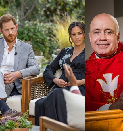 """""""No Harry and Meghan private garden wedding took place"""" Vicar says after Meghan claimed she and Harry had a private wedding before Royal wedding"""