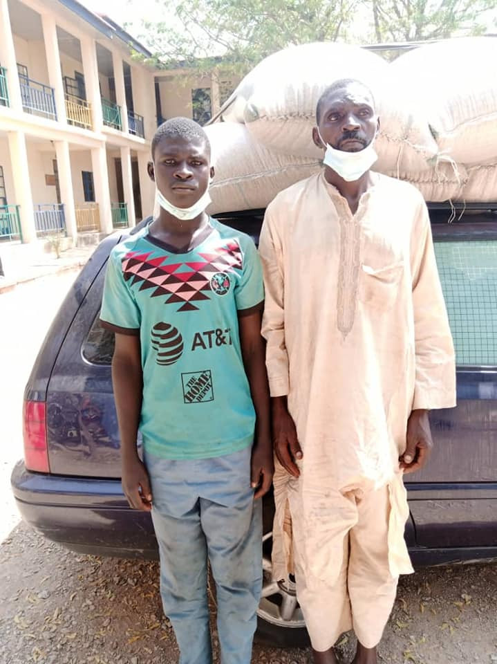 Katsina Police arrest father and son who specialize in?shop breaking and theft