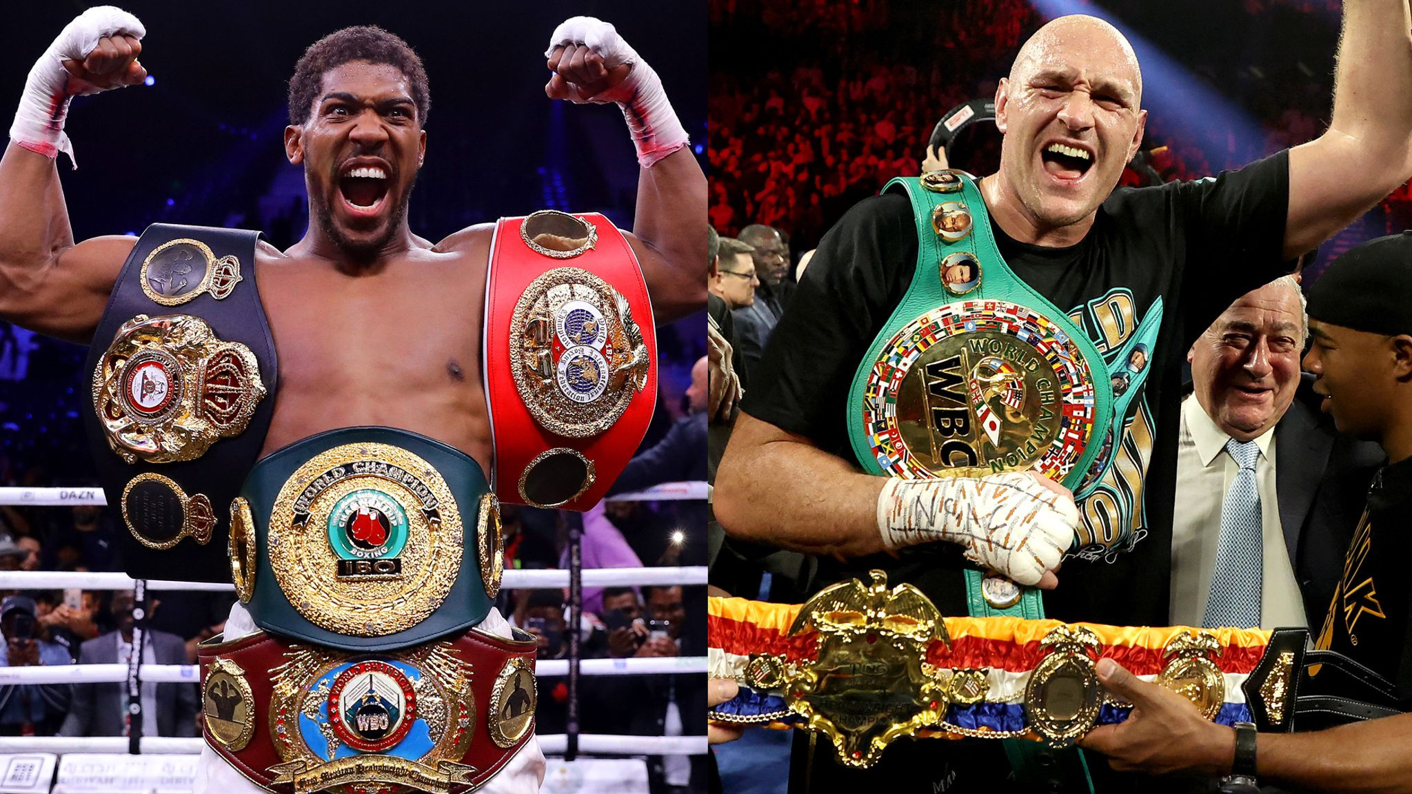 The biggest British fight of all time is on! Anthony Joshua and Tyson Fury finally sign their ?200m two-fight contract
