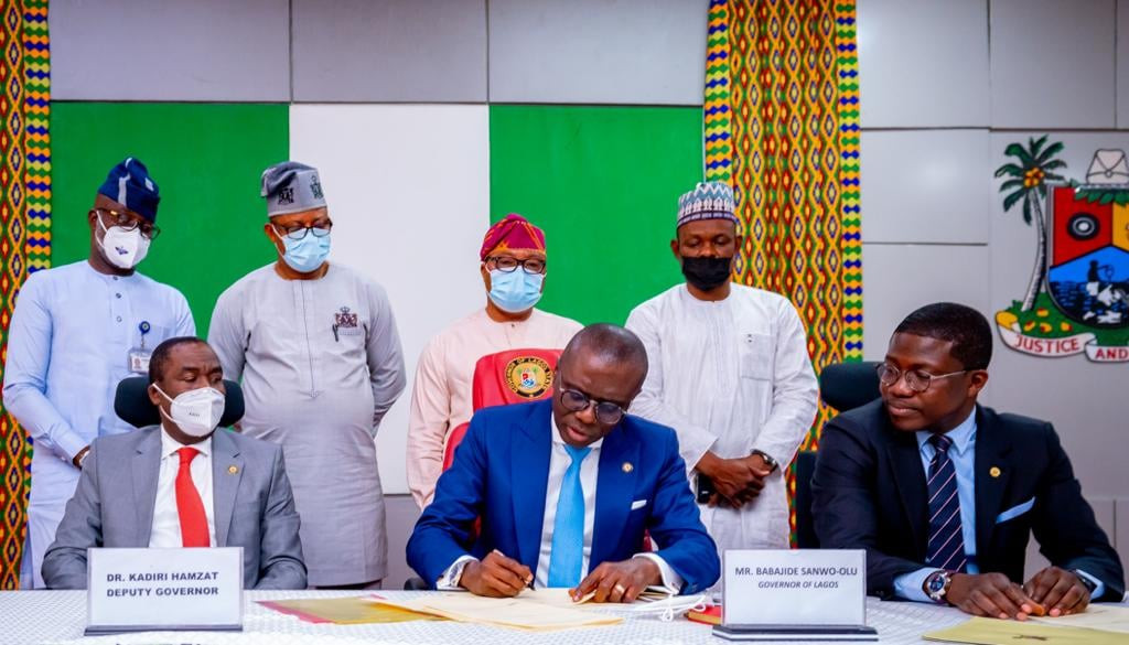 Governor Sanwo-Olu signs anti-cultism bill into law approving 21-year jail term for cultists