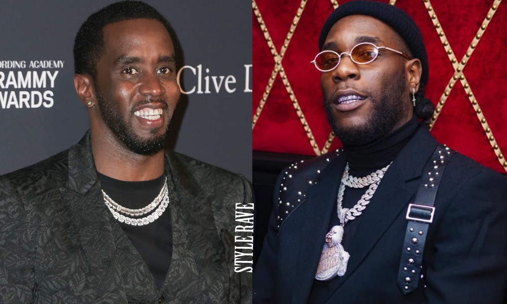 HipHop Mogul, Diddy congratulates Burna Boy on his Grammy Award