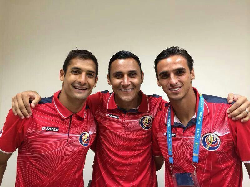 Footballers, Keylor Navas, Bryan Ruiz and Celso Borges are accused of plotting to deliberately lose matches to get Costa Rica