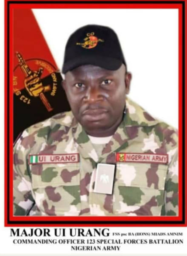 Photos of Army Major killed in Boko Haram ambush in Borno three days after his birthday