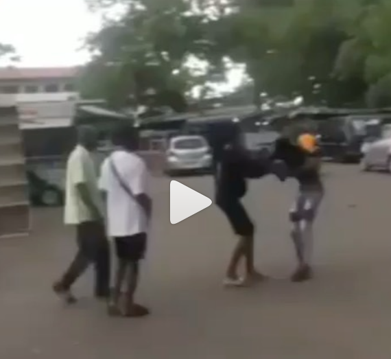Pregnant lady confronts student boyfriend on campus after he refused taking responsibility for her pregnancy (video)