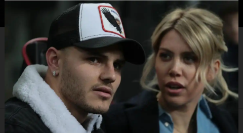 PSG footballer Mauro Icardi sleeps with his wife 12 times a day - Former Italian defender, Daniele Adani says