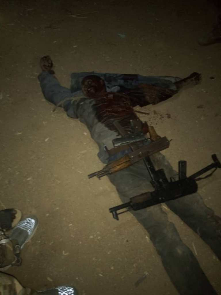 Troops kill suspected armed robber in Plateau state, recover arms