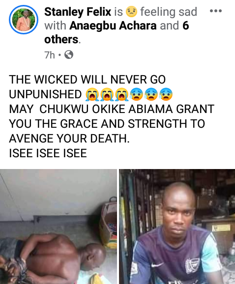 Man found dead in Port Harcourt with hands and feet tied (photo)