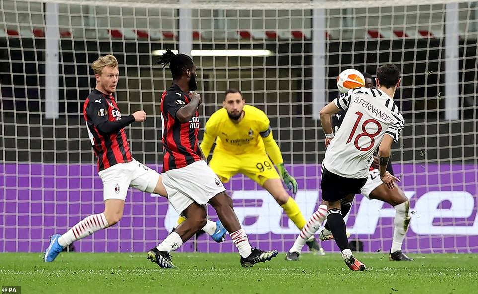 AC Milan 0-1 Manchester United (Agg 1-2) : Paul Pogba to the rescue as United cruise to Europa League quarterfinals
