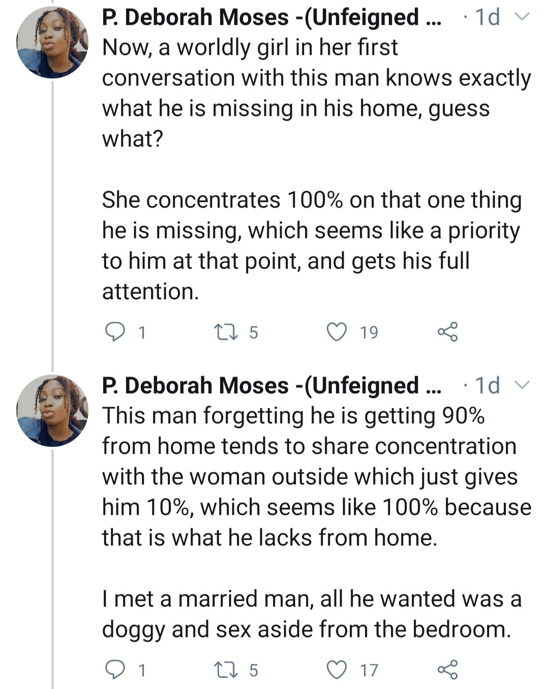 Repentant former side chic, who said she could get any married man she wanted, tells women how to stop their husbands from cheating