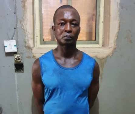 Suspected rapist who had nude videos and photos of his victim on his phone arrested in Lagos (photos)