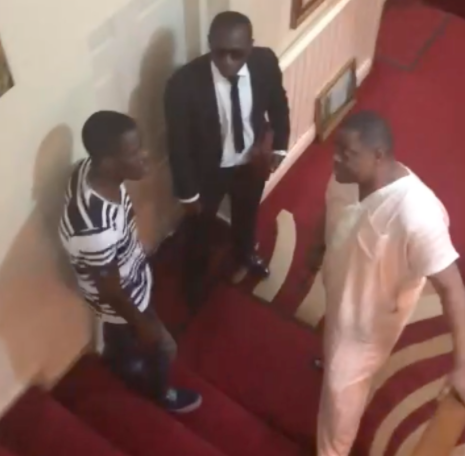 Sahara Reporters releases video claiming it shows FFK allegedly threatening his former personal assistant with a hammer