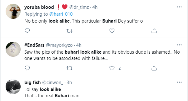 Nigerians react as President Buhari