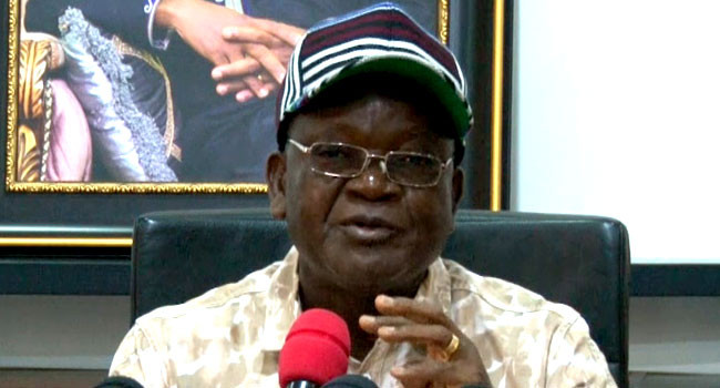 Gunmen attack Benue state governor, Samuel Ortom