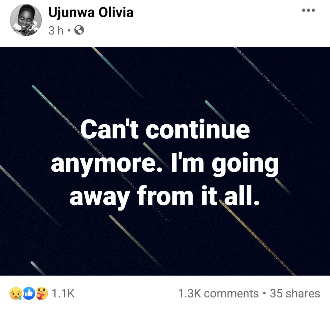 """""""I did evil to a girl that did nothing to me"""" Man confesses on Facebook to gang-raping a girl with his friends after 3 of the friends died mysteriously"""