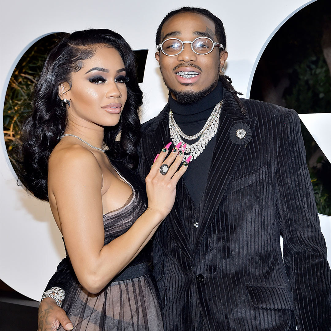 Quavo allegedly takes back the 2021 Bentley convertible he gifted Saweetie for Christmas after she broke up with him