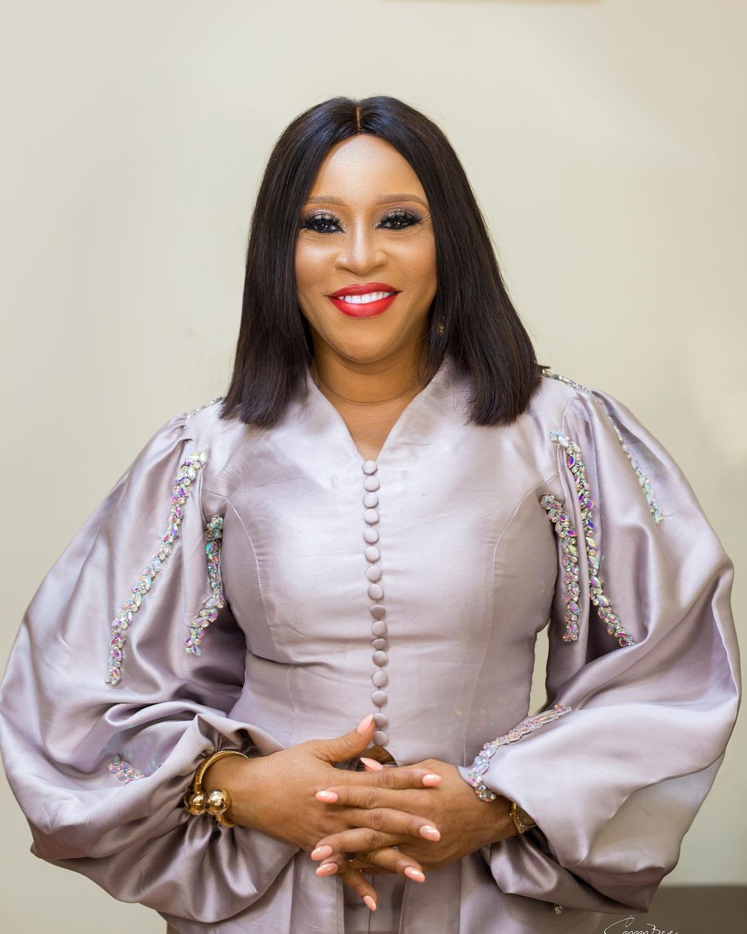 BBNaija star, Ozo shares lovely new photos of his mum as she turns 55