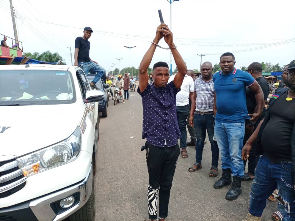 Suspected cultist paraded for alleged attempted murder in Delta community