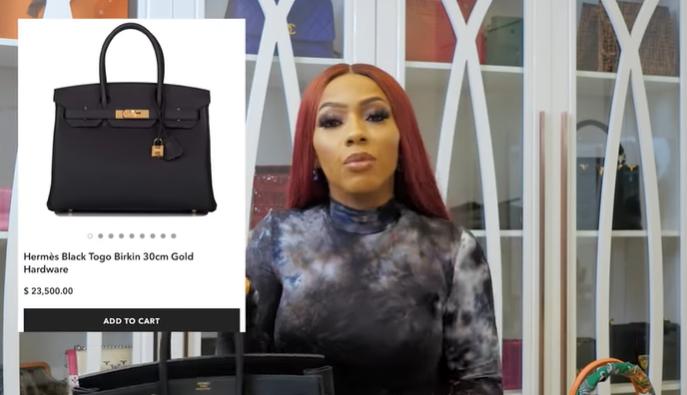My 2 hermes handbags are more popular than some people in Nigeria - BBNaija star, Mercy Eke (photos/Video)