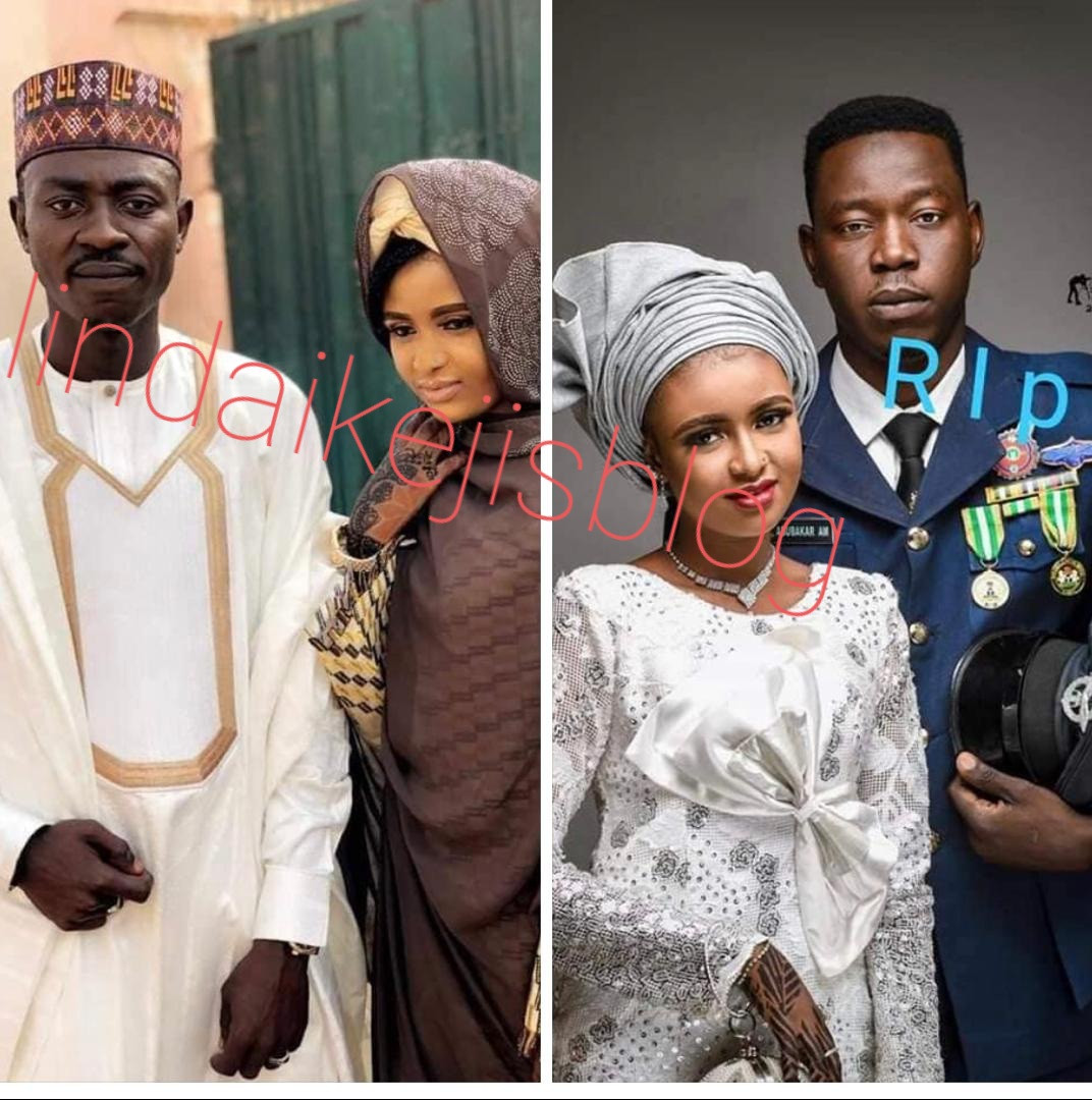 Wife of Nigerian Air Force personal killed in February marries his older brother (photo)