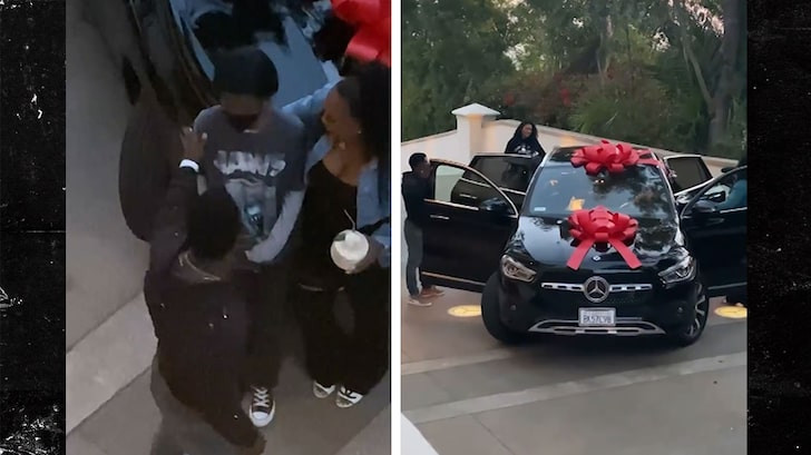 Kevin Hart surprises his daughter Heaven with $85K Mercedes SUV for her 16th birthday (Video)
