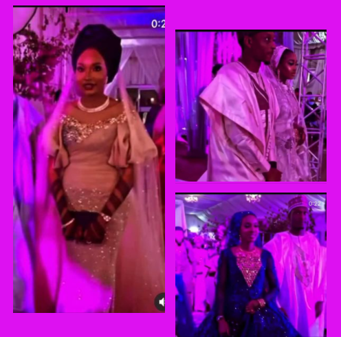 Three brothers marry their brides on same day in Kano (video)