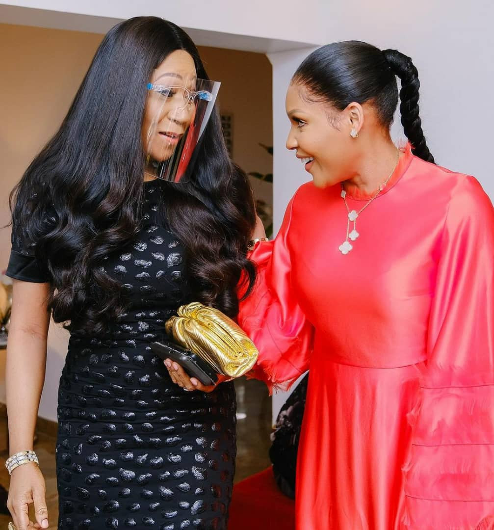 Photos from the birthday dinner of ex-beauty queen, Anita Uwagbale