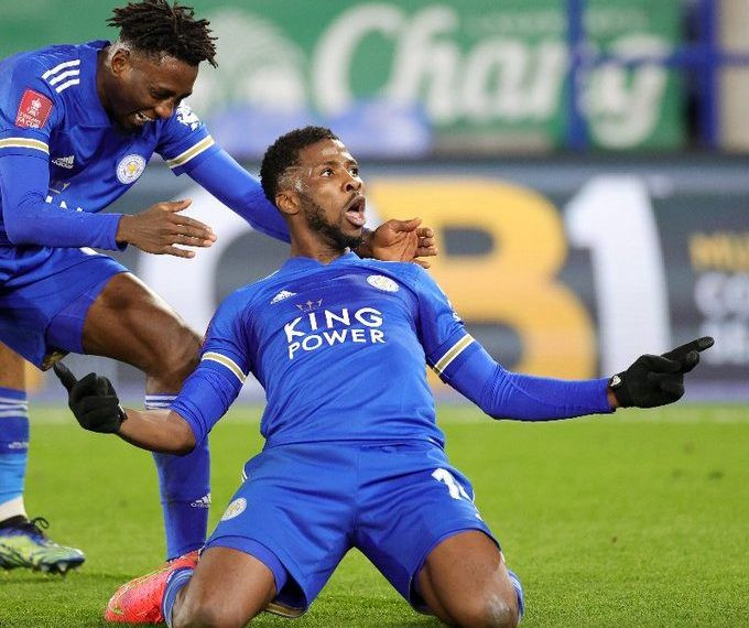 Kelechi Iheanancho equals Didier Drogba