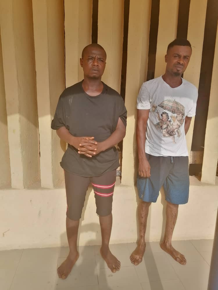 Anambra police arrests three suspected cultists who allegedly killed two men in Okija (photos)