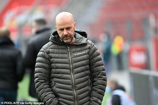 Bayer Leverkusen sack coach Peter Bosz following poor run of four defeats in five games