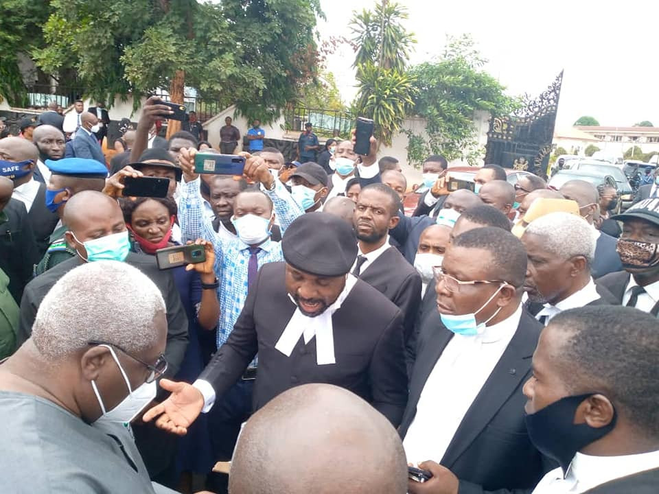 Lawyers in Anambra protest over insecurity, kidnap, murder of colleague