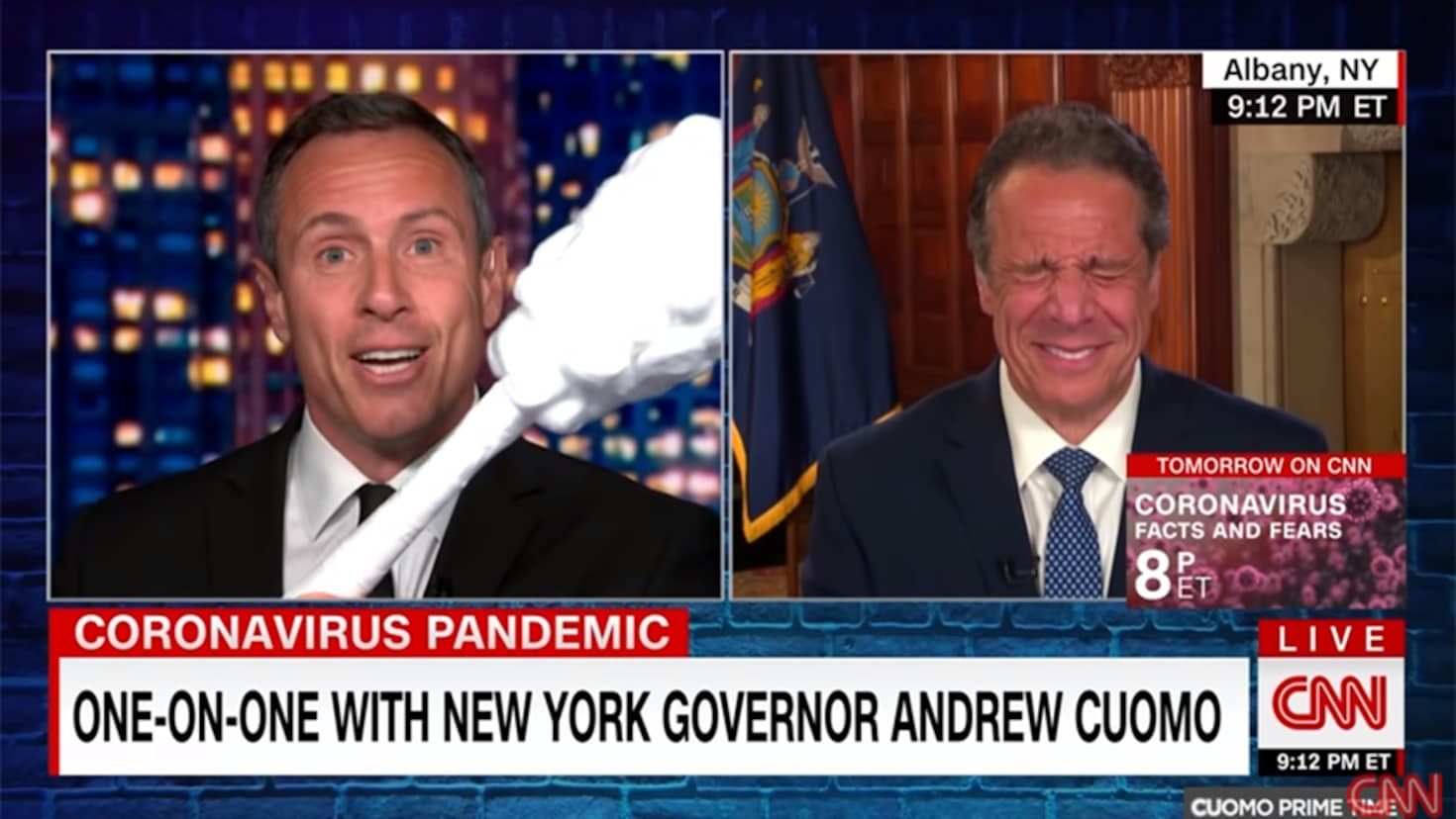 CNN's 'Cuomo Prime Time' recieved the worst views of the year due to sexual scandals