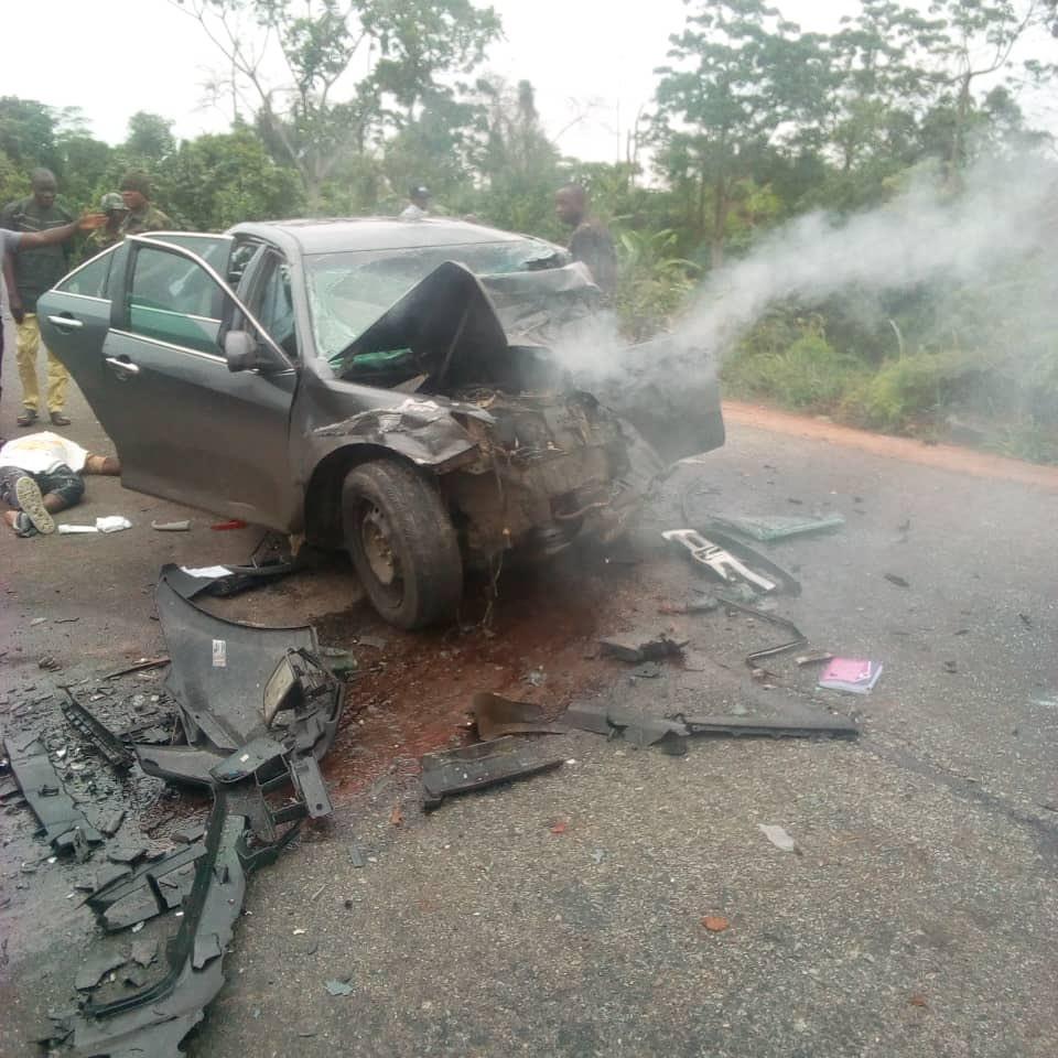 Ex-Ondo lawmaker, Akpoebi Lubi dies in auto crash (photos)