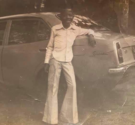Check out this childhood photo of former Imo state governor, Emeka Ihedioha