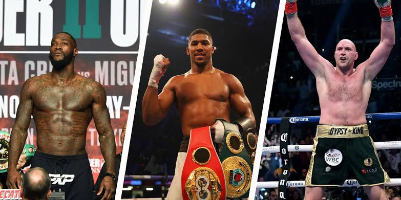 Check out where Tyson Fury, Deontay Wilder and Anthony Joshua rank in the new boxing heavyweight pound-for-pound rankings