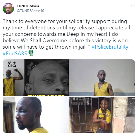 Man recounts how he was detained and beaten up for filming police harassment in Lagos