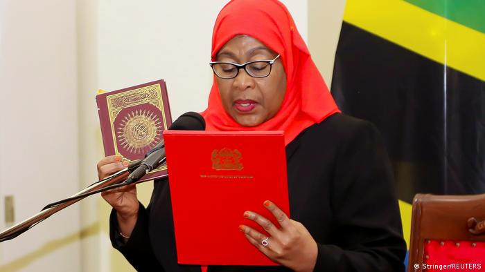 I still kneel and submit to my husband ? Tanzanian President, Samia Suluhu (video)