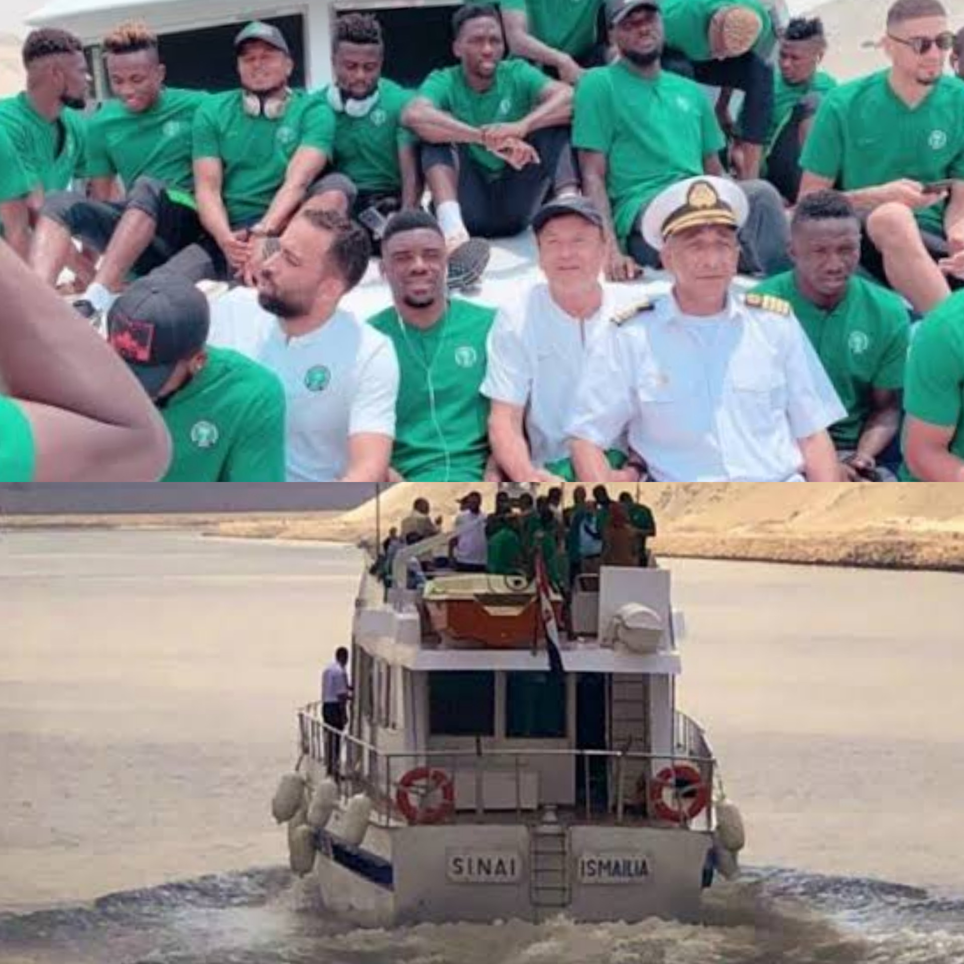 Super Eagles to travel to Benin Republic by boat ahead of must win AFCON qualifiers