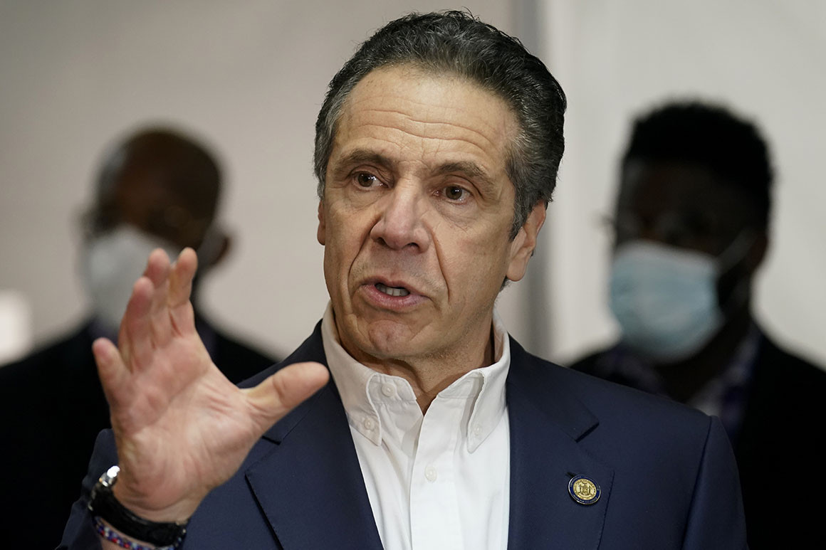 NY governor Andrew Cuomo reportedly directed health officials to prioritize his relatives, associates for covid-19 testing