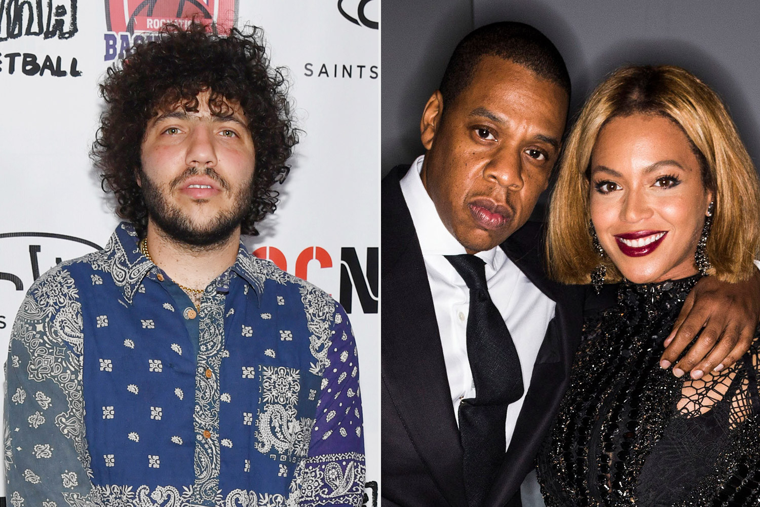 """?My life flashed before my eyes"""" - Benny Blanco recalls the awkward moment he accidentally kissed Beyonce in front of Jay-Z"""