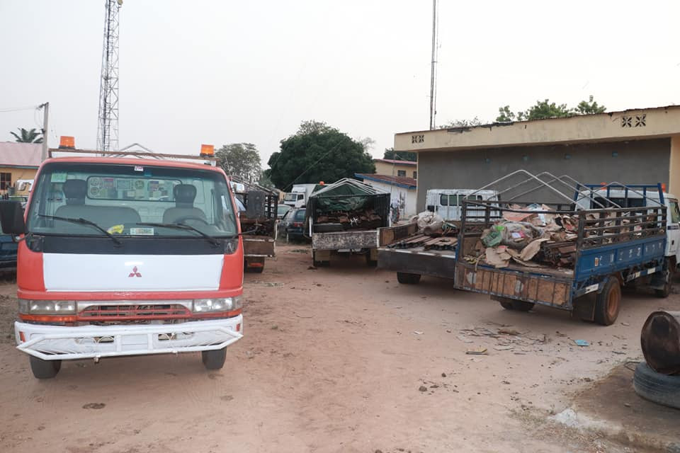 21 suspects arrested for railway vandalism in Niger State