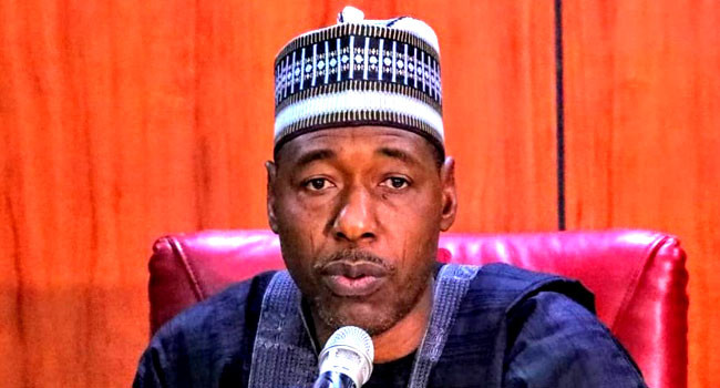 Power should go to south in 2023 - Gov Zulum