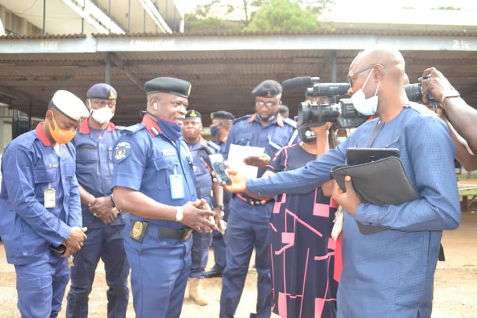 NSCDC arrests three Oyo State officials for allegedly stealing COVID-19 palliatives