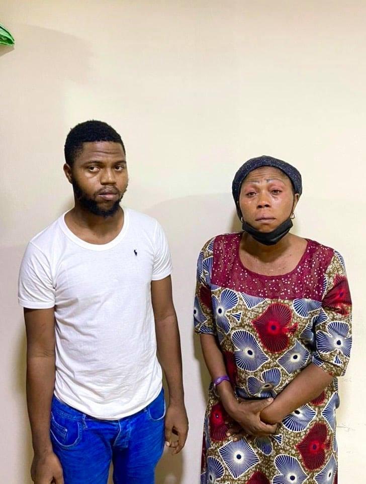 EFCC arrest mother and son for alleged N50m internet fraud