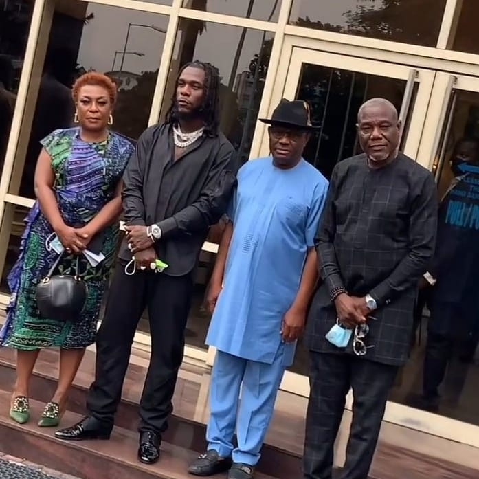 Burna Boy is a pride of Rivers state - Governor Wike says