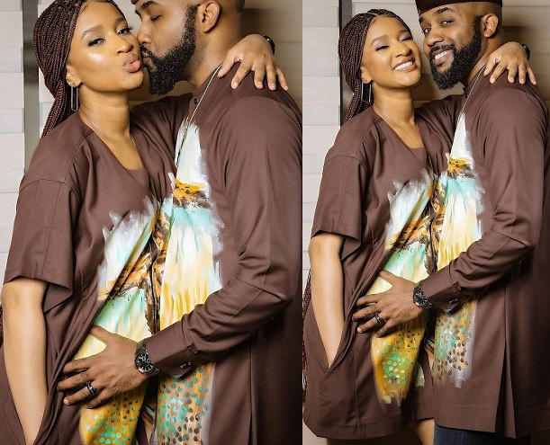 Banky W and Adesua Etomi-Wellington all loved up in new stylish photos?
