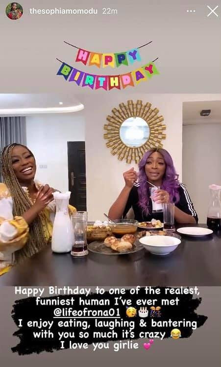 The three women who have children with Davido celebrate his sister, Sharon on her birthday