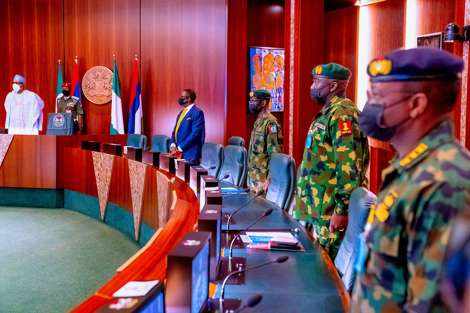 Take out bandits, kidnappers and their sponsors - President Buhari orders service chiefs