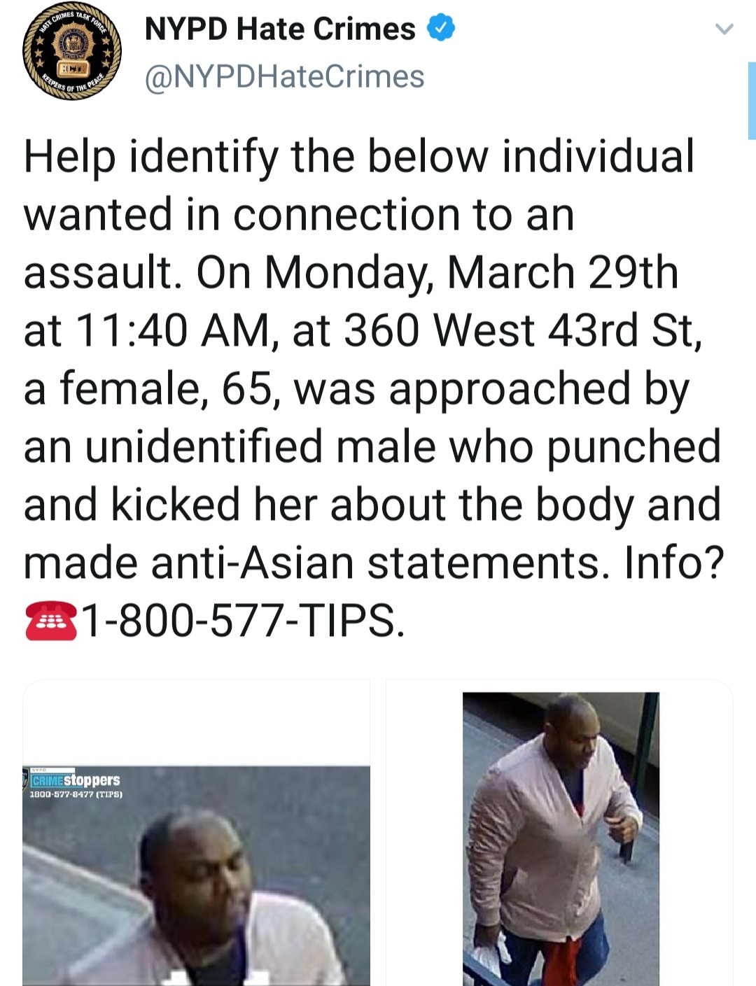 "Asian American woman brutally attacked on her way to church after being told ""you don"