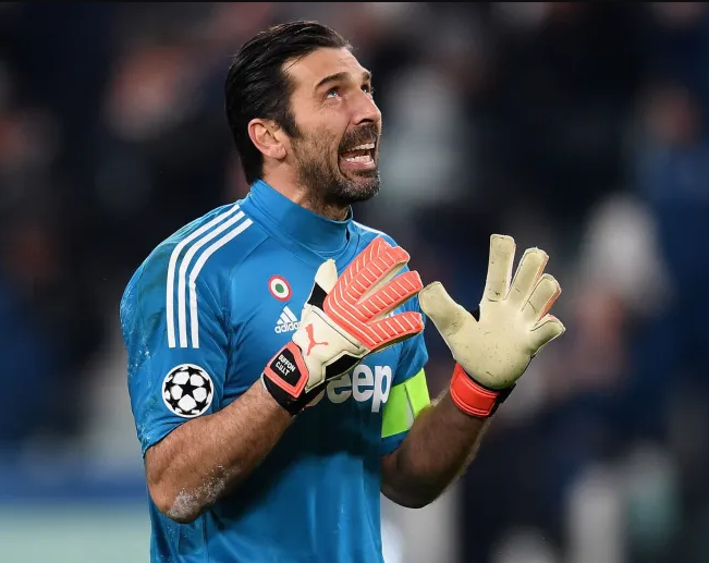 Italian goalkeeper, Gianluigi Buffon handed one-game ban for Blasphemy after he shouted