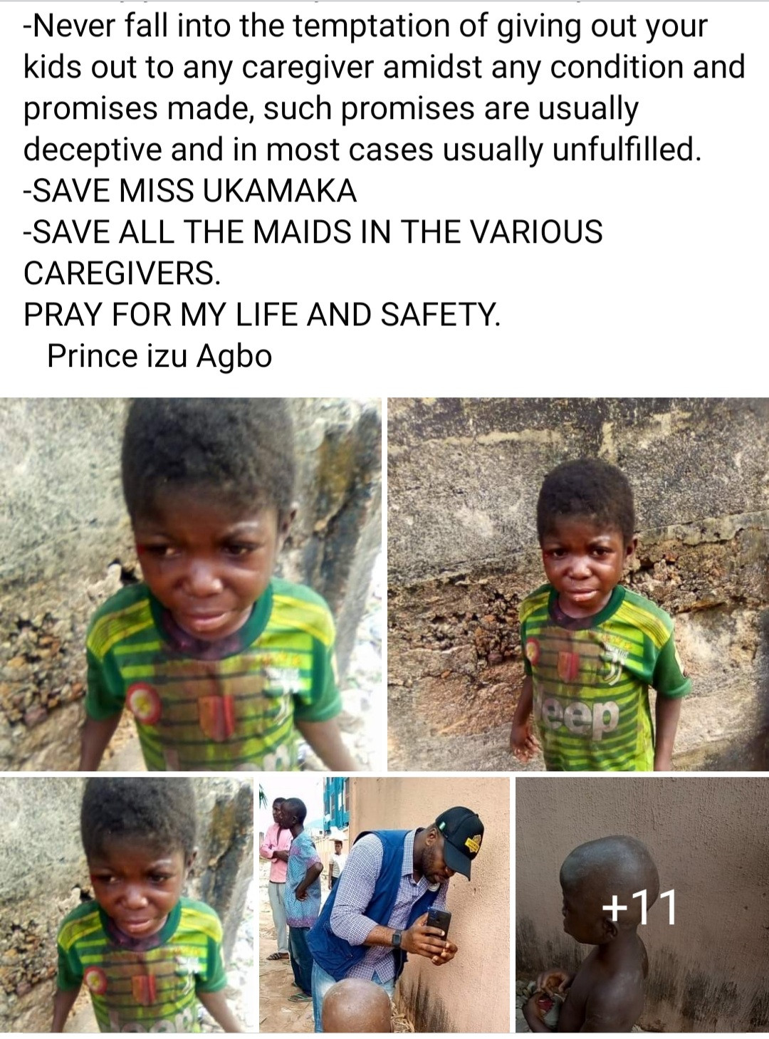 Ochachonews: Young Maid Brutalised After Being Accused Of Witchcraft In Anambra